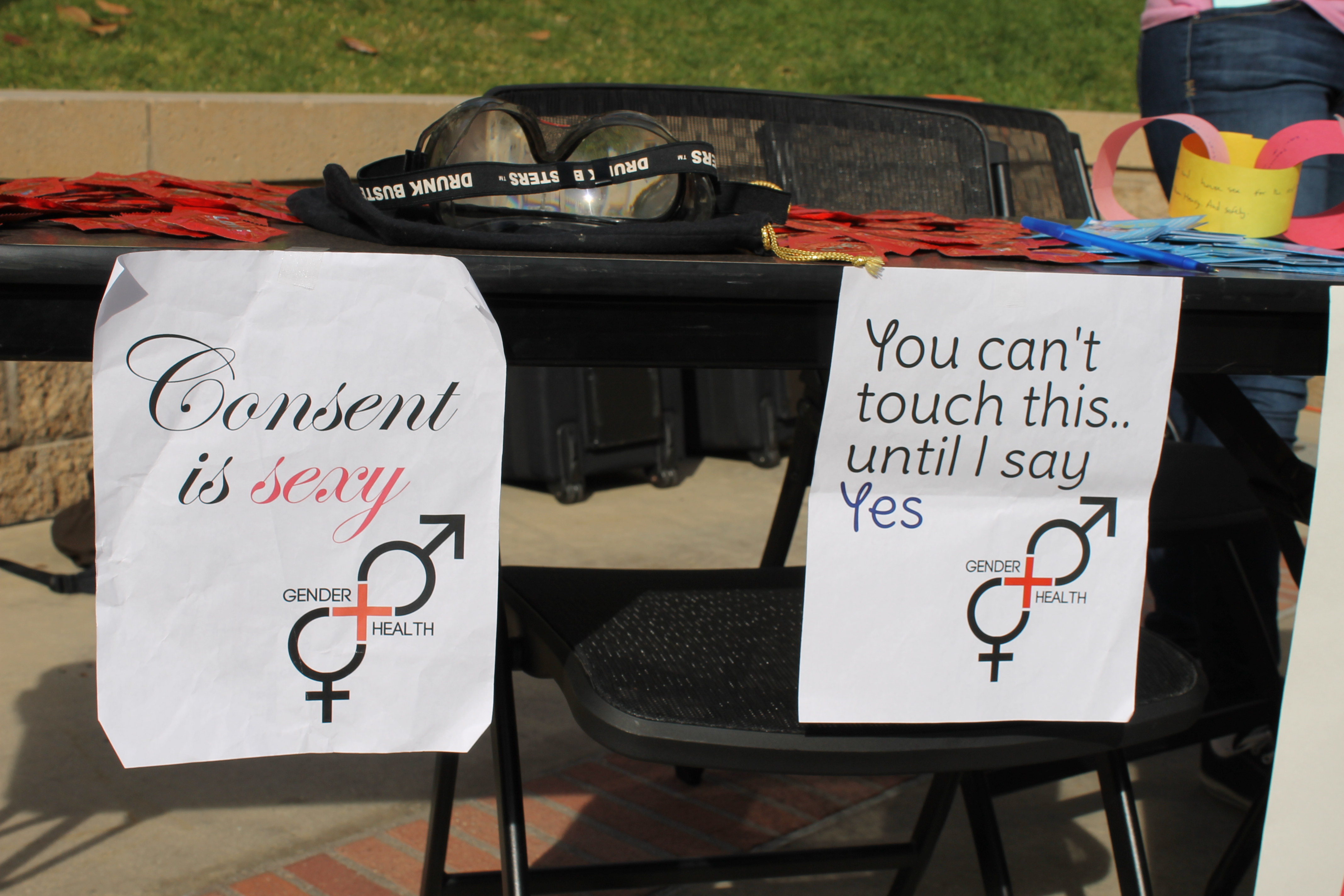 """Photo of UCLA'S Gender Health Fair: """"How to keep sex, safe, healthy and positive"""""""