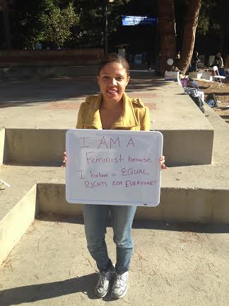 Photo of Featured UCLA Feminist: Dominique Hall-Carr