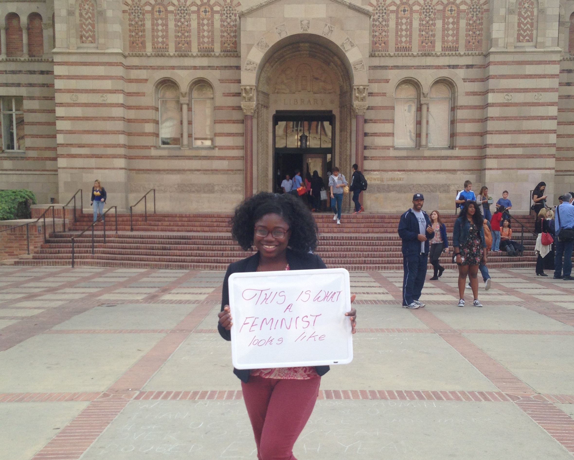 Photo of Featured UCLA Feminist: Yewande Sanusi