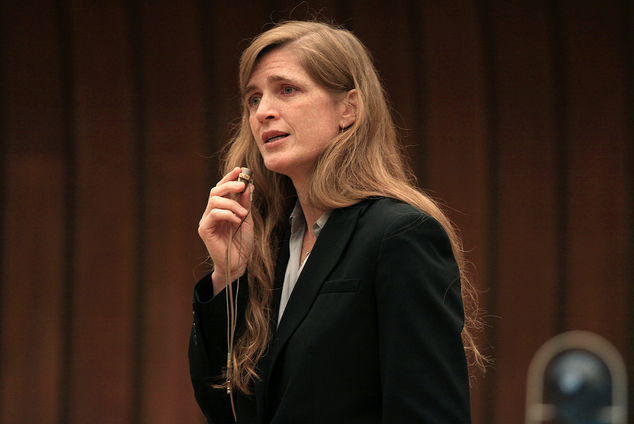 Photo of Samantha Power: A Feminist in the UN