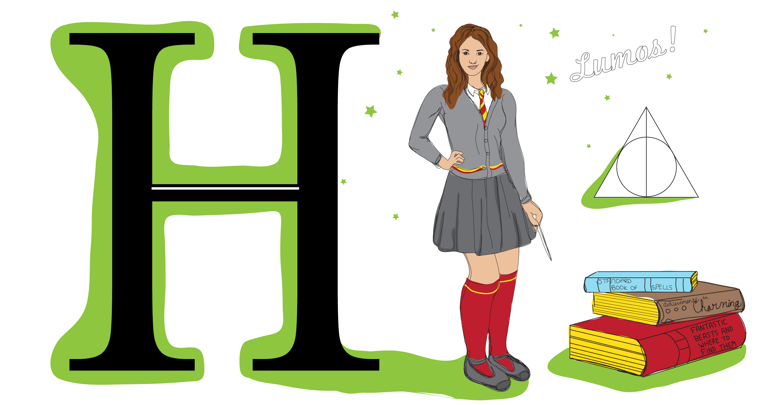 Photo of H is for Hermione Granger