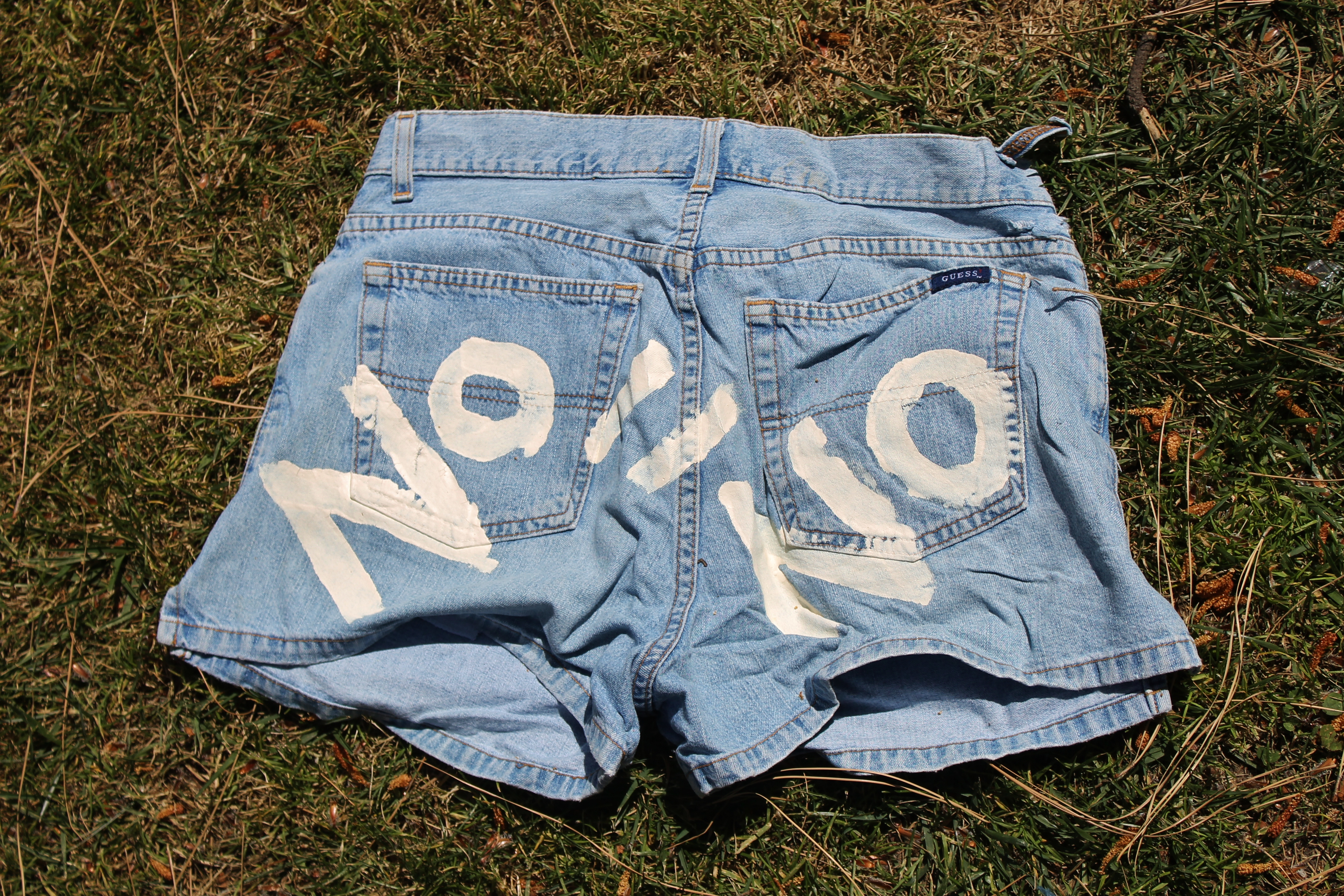 """Photo of Denim Day at UCLA: """"There is No Excuse and Never an Invitation to Rape"""""""