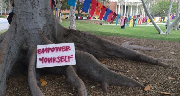 The Clothesline Project at UCLA