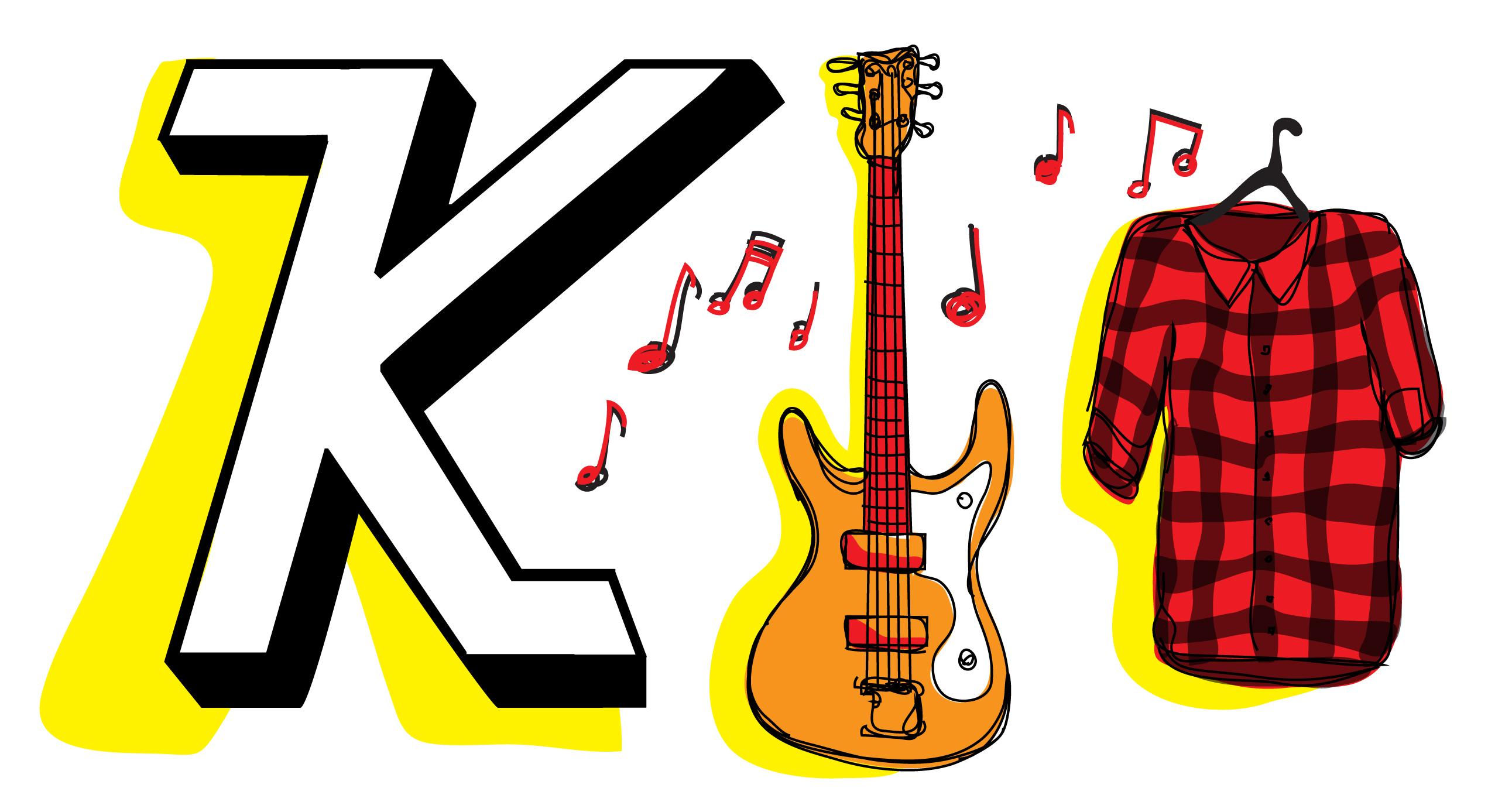 Photo of K is for Kurt Cobain