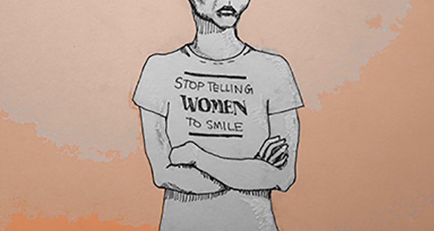 "Photo of Tatyana Fazlalizadeh: ""Stop Telling Women to Smile"""