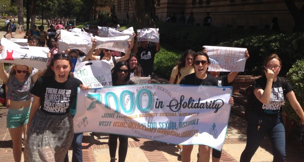 Consent Walk at UCLA: Because I Refuse to be Silenced
