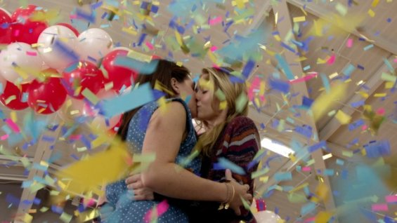 """Photo of """"Faking It"""": A Public Insult to Lesbian Relationships"""