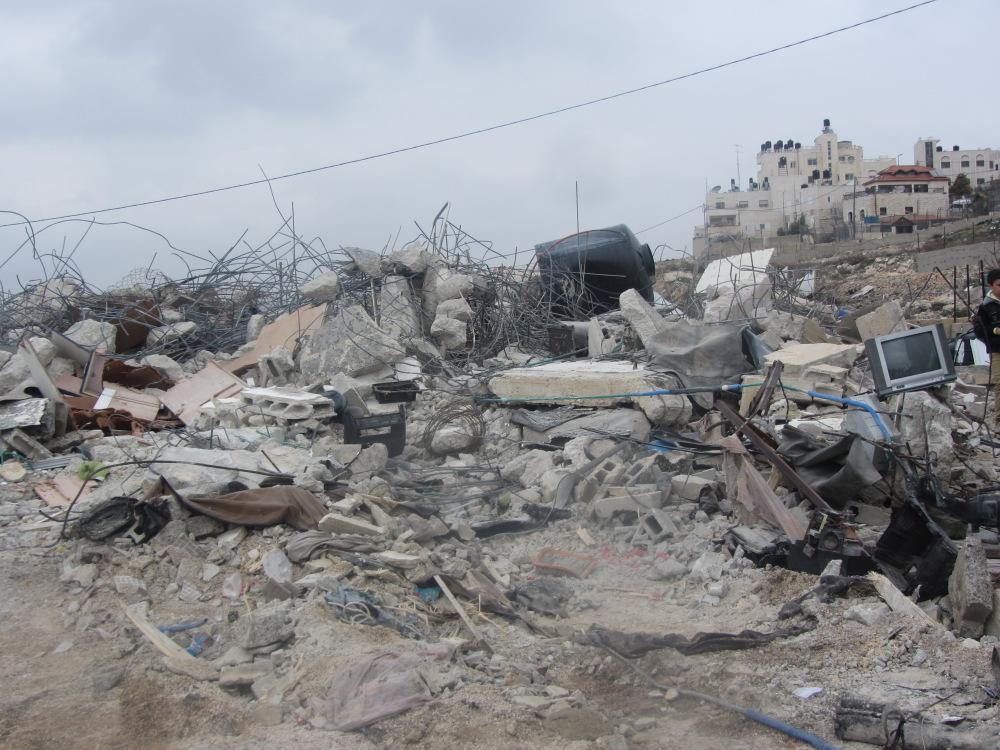 """""""Five demolitions in East Jerusalem, January 2014"""" by 'Amer' Aruri, B'Tselem's Field Researcher"""