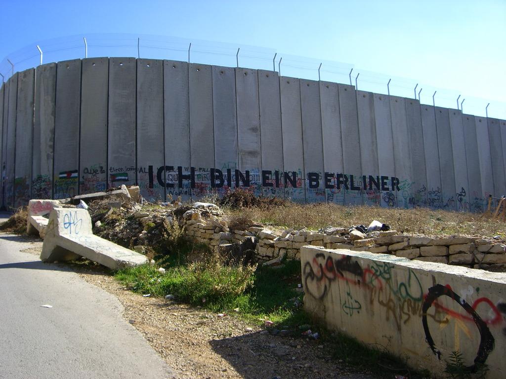 """""""Israel-Palestinian Wall Ich Bin Eine Berliner"""" by Marc Venezia"""