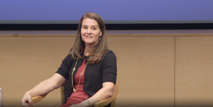 Photo of Melinda Gates at UCLA: Bringing a Gender Lens to Development