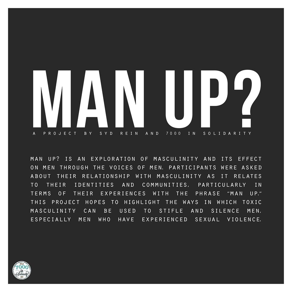 "Photo of Monday of Consent Week: ""Man Up?"""