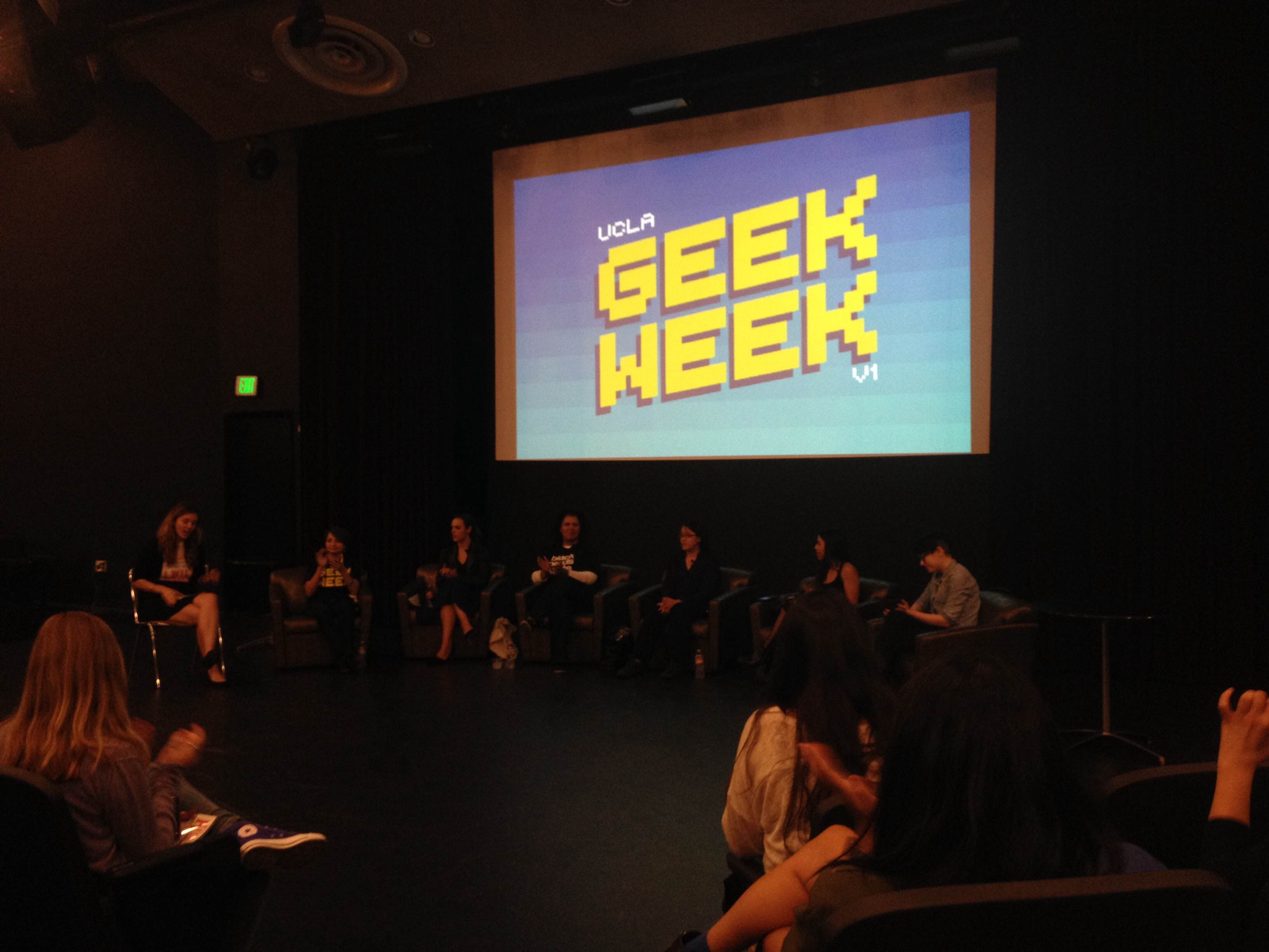 Photo of Geek Week at UCLA – Nerd Girl Panel