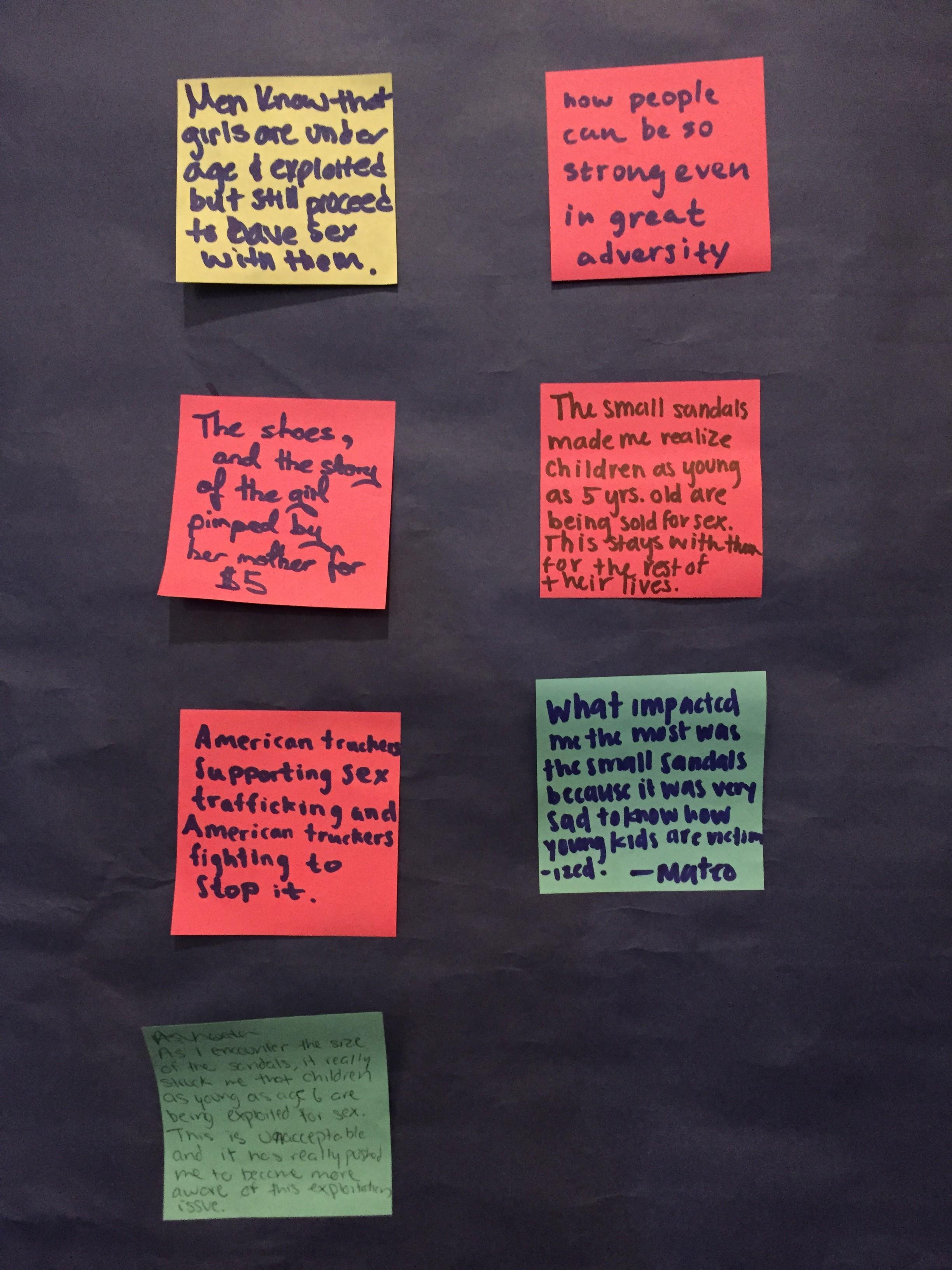 Photo of Vulnerable: L.A. Stop the Traffik's Empathy Exhibit