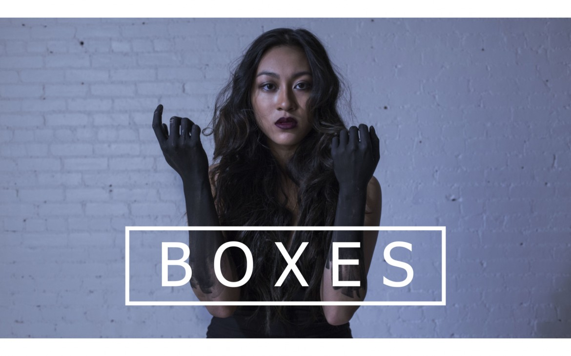"Britt Pham in the ""Boxes"" Music Video"
