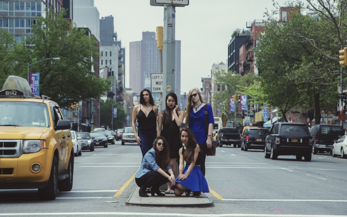 The BPM Team on the streets of NYC, photographed by Isabella Tan.