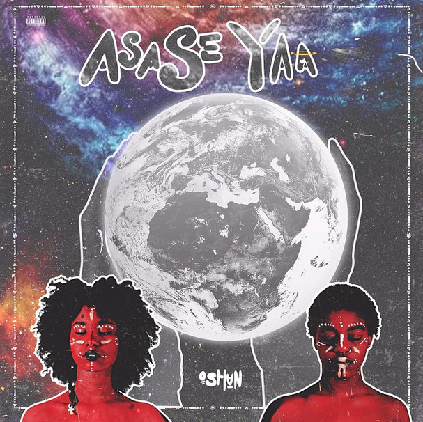 Album work for OSHUN's first album, ASASE YAA, Courtesy of OSHUN