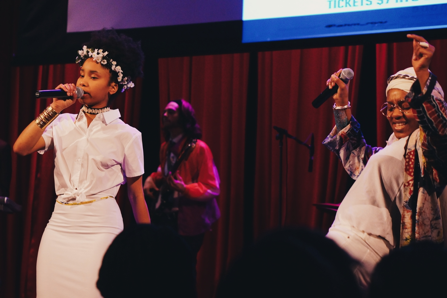 Image of Audience View of OSHUN Show in NYC earlier this year, Courtesty of OSHUN
