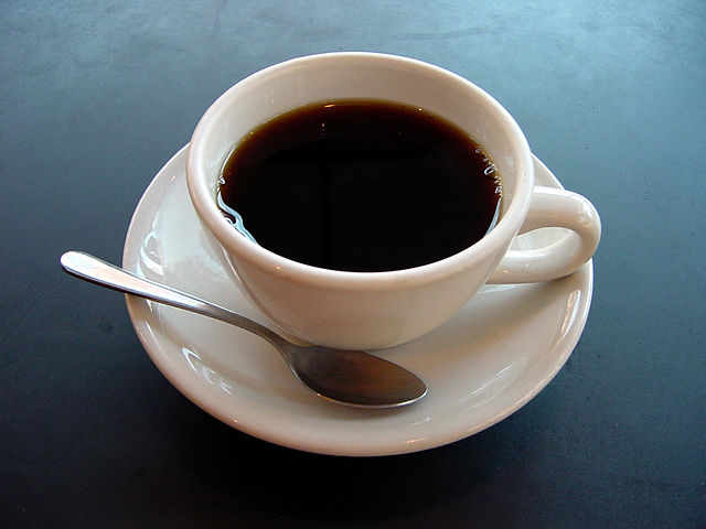 """A small cup of coffee"" by Julius Schorzman via Wikimedia Commons / CC  BY 2.0."
