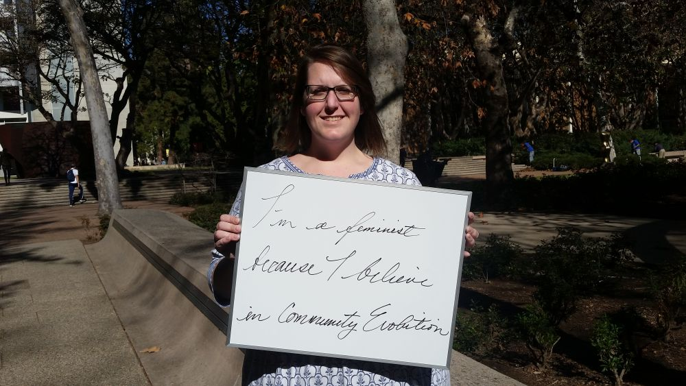 Photo of Featured UCLA Feminist: Caitlin Corker