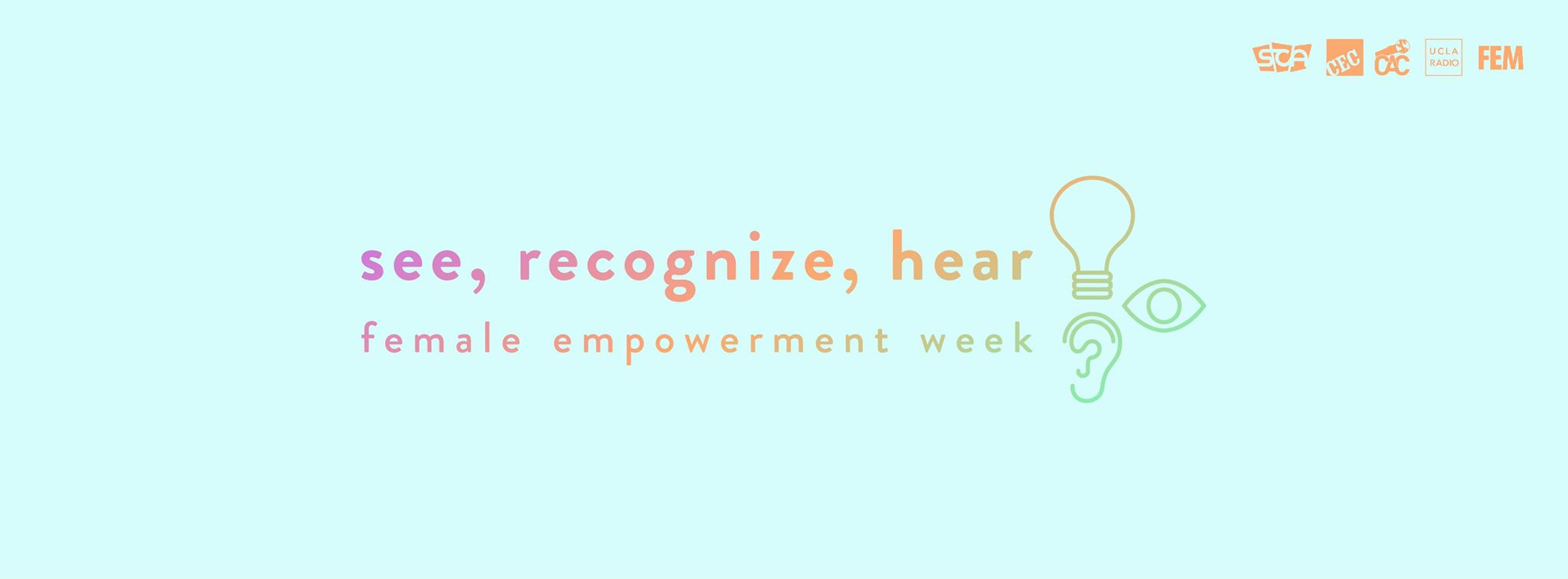 "Photo of Presenting ""See, Recognize, Hear"": A Week for Female Empowerment"