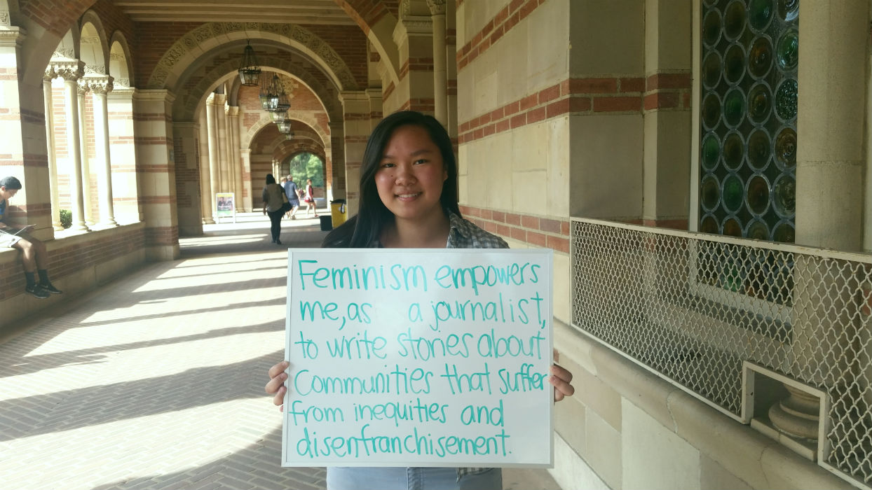 Photo of Featured UCLA Feminist: Karin Chan