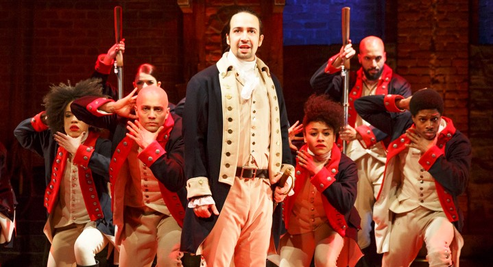 "Photo of ""Hamilton,"" Lin-Manuel Miranda, and the Politics of Making History"