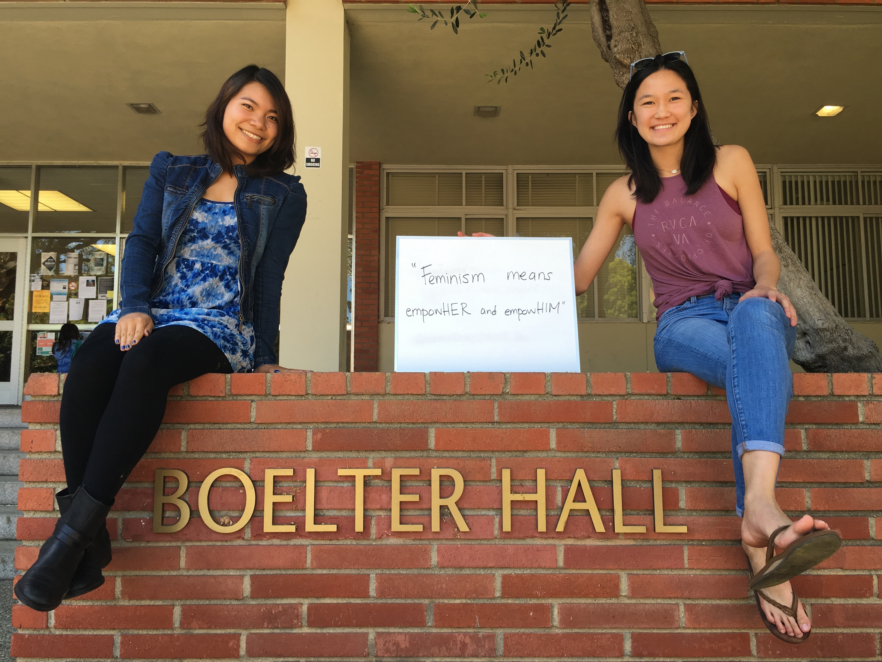 Photo of Featured UCLA Feminists: Jackie Yangyuen and Allison Doami