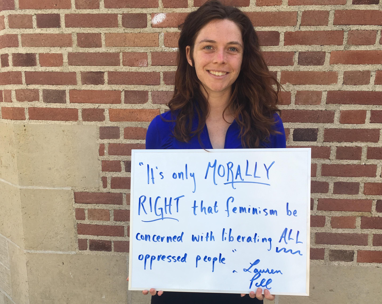Photo of Featured UCLA Feminist: Lauren Pell