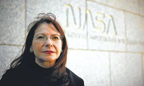 Image of Adriana Ocampo by NASA via Wikimedia Commons.