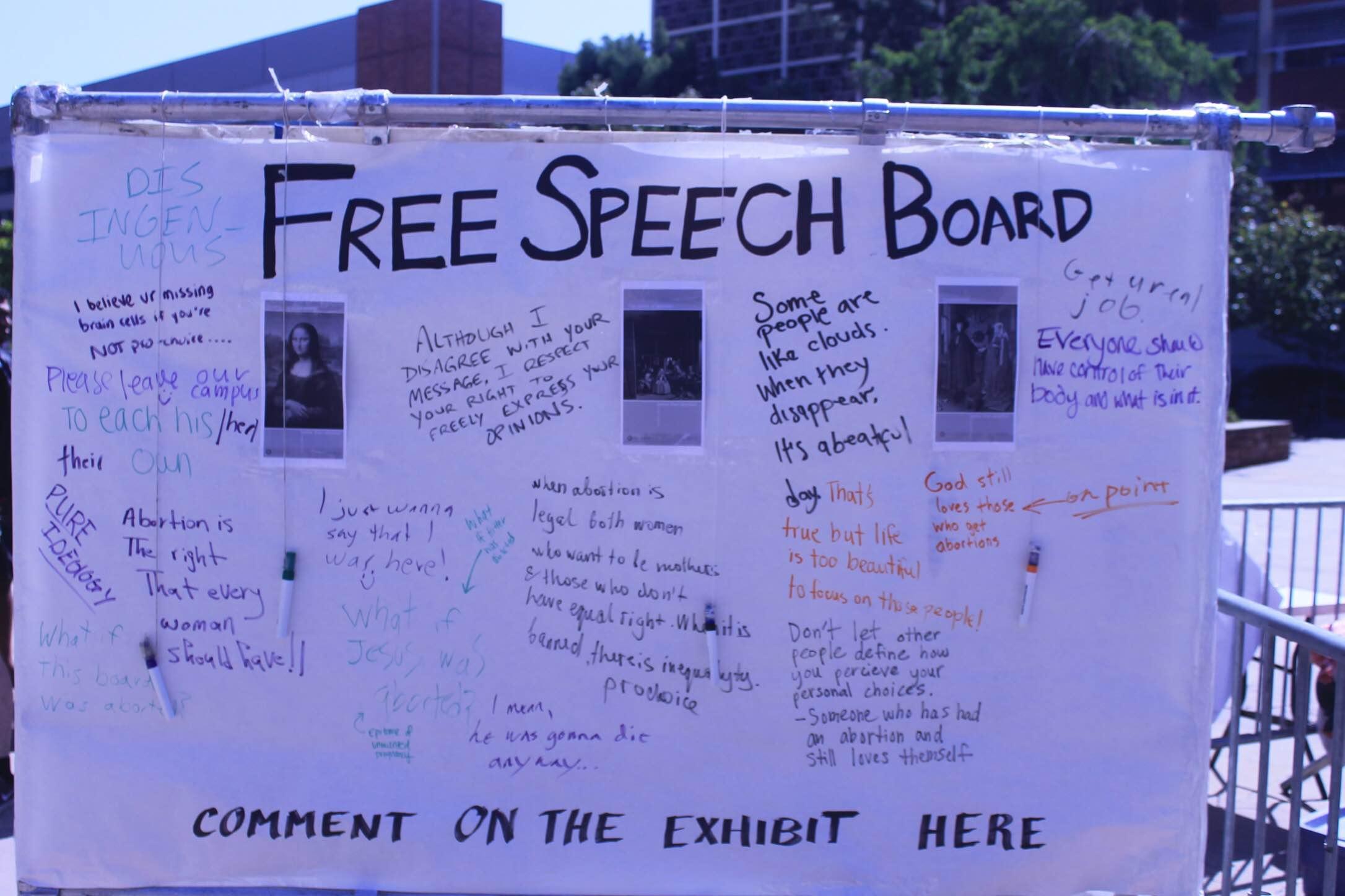 Photo of Deconstructing Pro-Life Arguments at UCLA