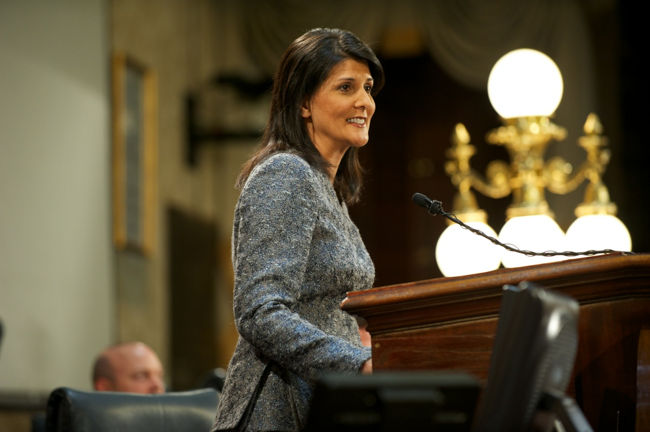 Photo of U.S. Ambassador To The UN Nikki Haley Is Not Afraid To Disagree With President Trump