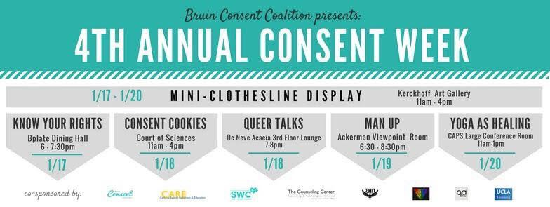Photo of Fourth Annual Consent Week at UCLA