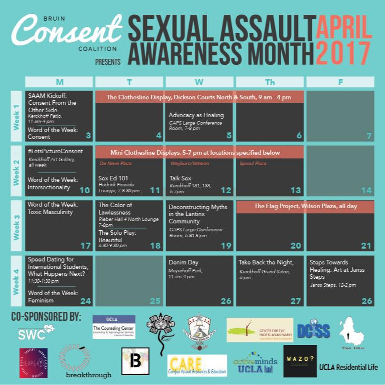 Photo of Sexual Assault Awareness Month at UCLA
