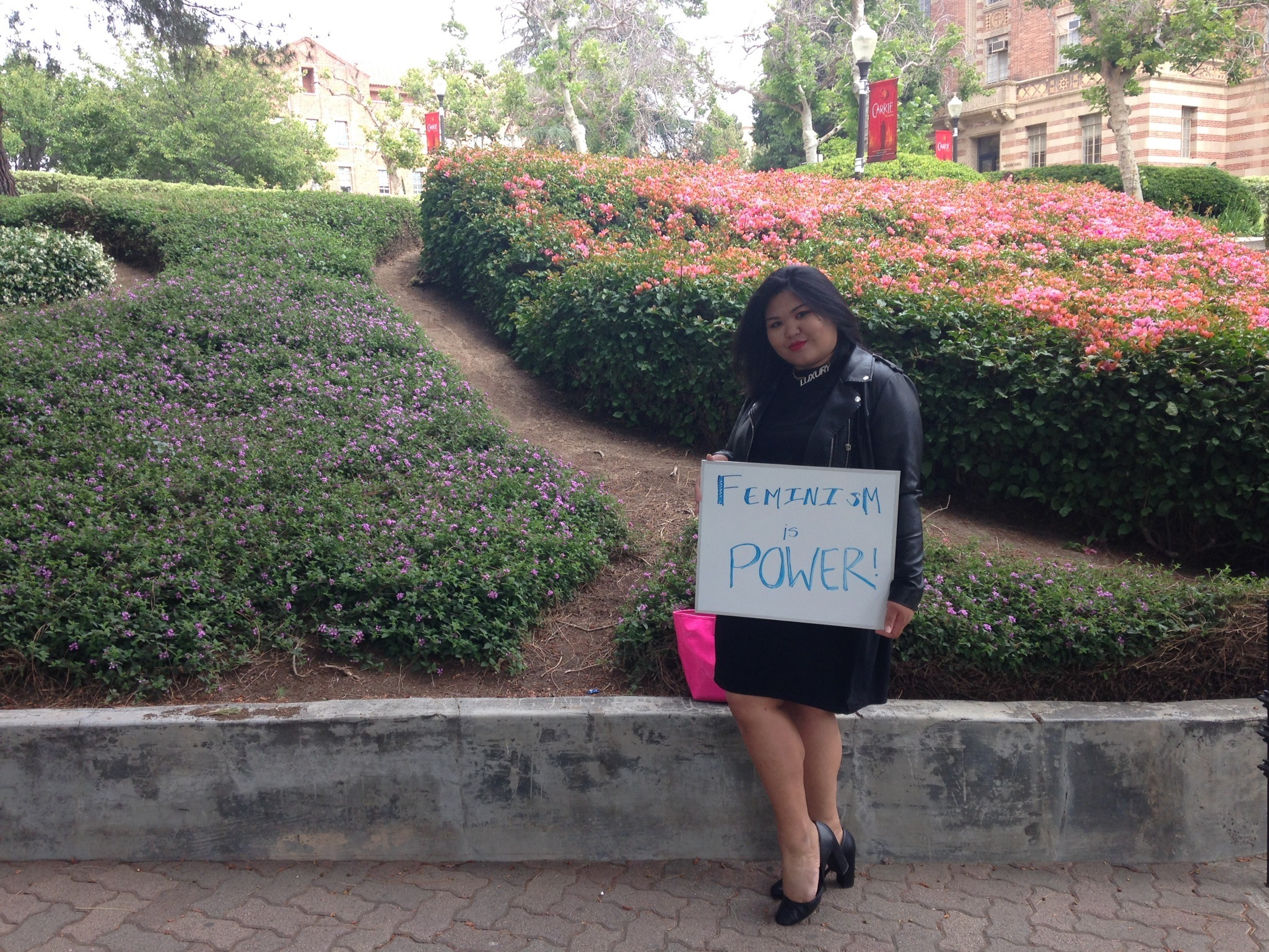 Photo of Featured UCLA Feminist: Francesca Parreñas