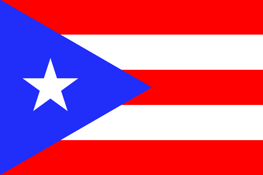 Flag of Puerto Rico, via Wikimedia Commons/ Public Domain