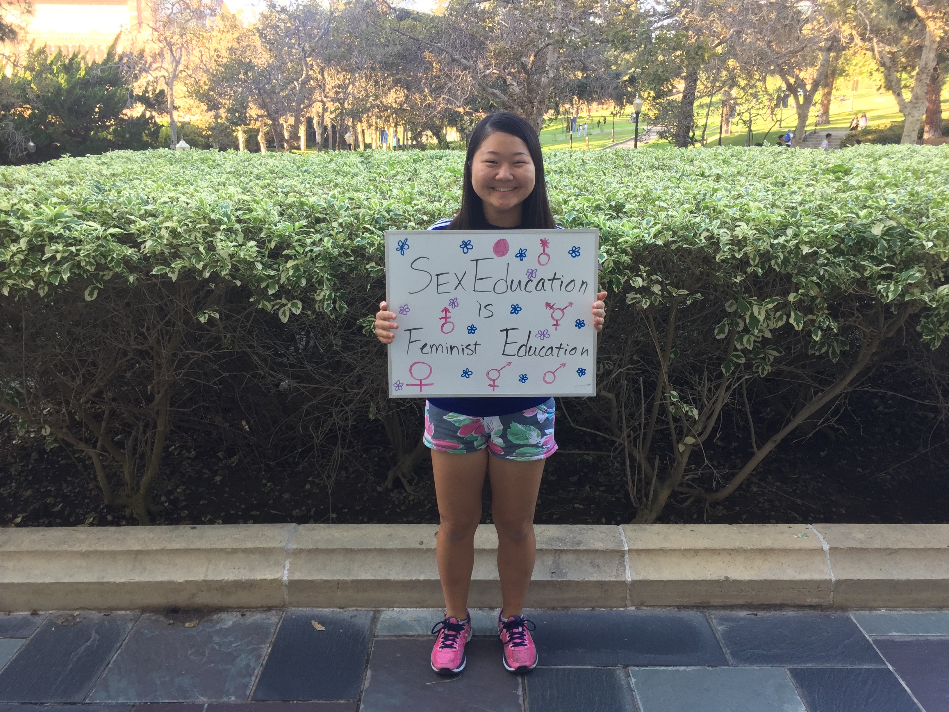 Photo of Featured UCLA Feminist: Karan Ishii
