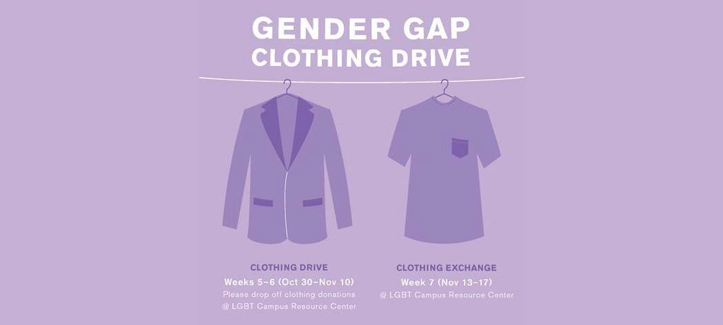 Photo of Gender-Gap Clothing Drive
