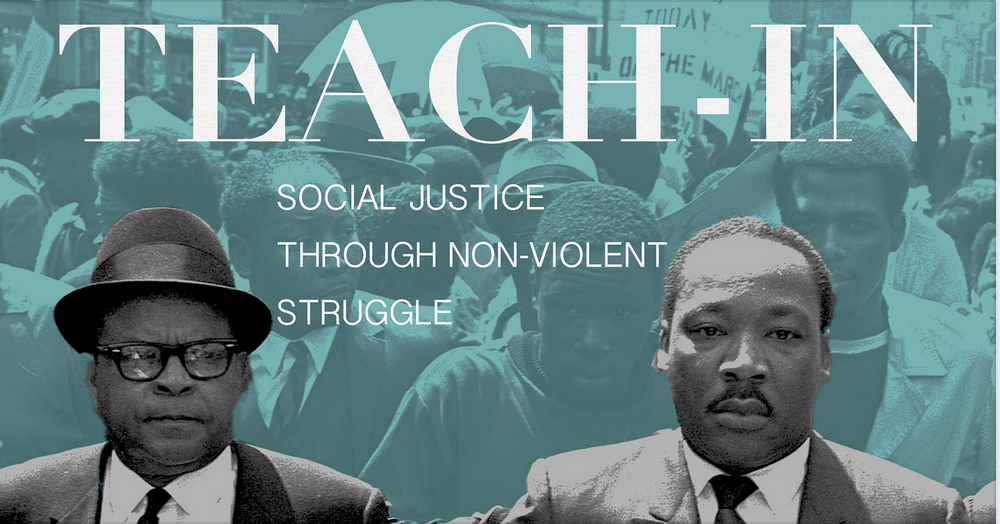 Photo of Nonviolence Teach-In