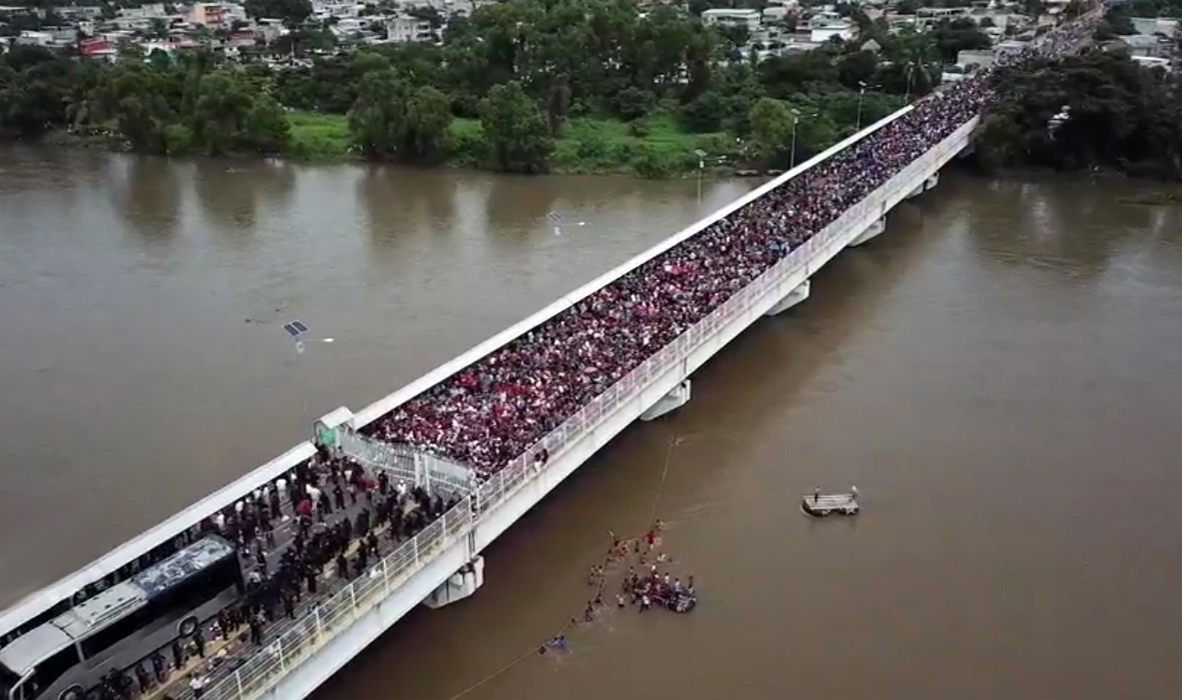 Photo of Fear of the Migrant Caravan Helps to Bolster Public Approval of Anti-Immigration Policies
