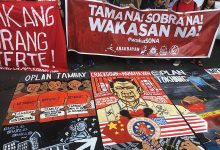 Photo of Pilipino Unity Against the Reign of Terror