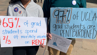 "Photo of Statewide Solidarity with UCSC COLA: Graduate Students Hold Rally and ""Sick Out"""