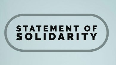 Photo of Statement of Solidarity with Black Lives Matter and Call for Collective Action