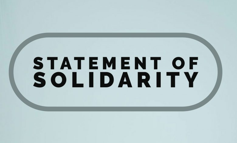 statement of solidarity